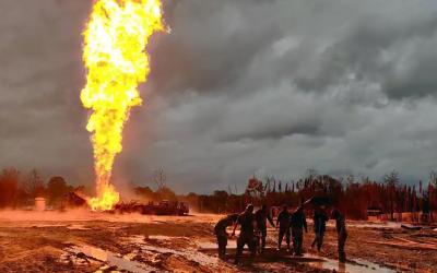 Assam's Baghjan Oil Well Suffers Huge Explosion