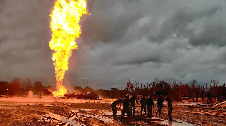 Assam's Baghjan Oil Well Suffers Huge Explosion